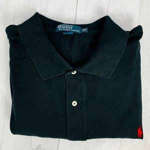 Polo Ralph Lauren Rugby Shirt Black 4XB Big
